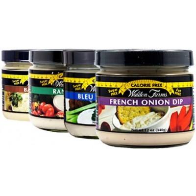 Бескалорийные дип-соусы для овощей и хлеба Walden Farms Veggie & Chip Dips