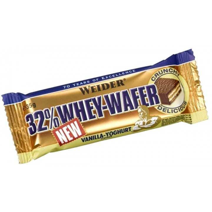 Протеиновые батончики Weider 32% Whey-Wafer Bar