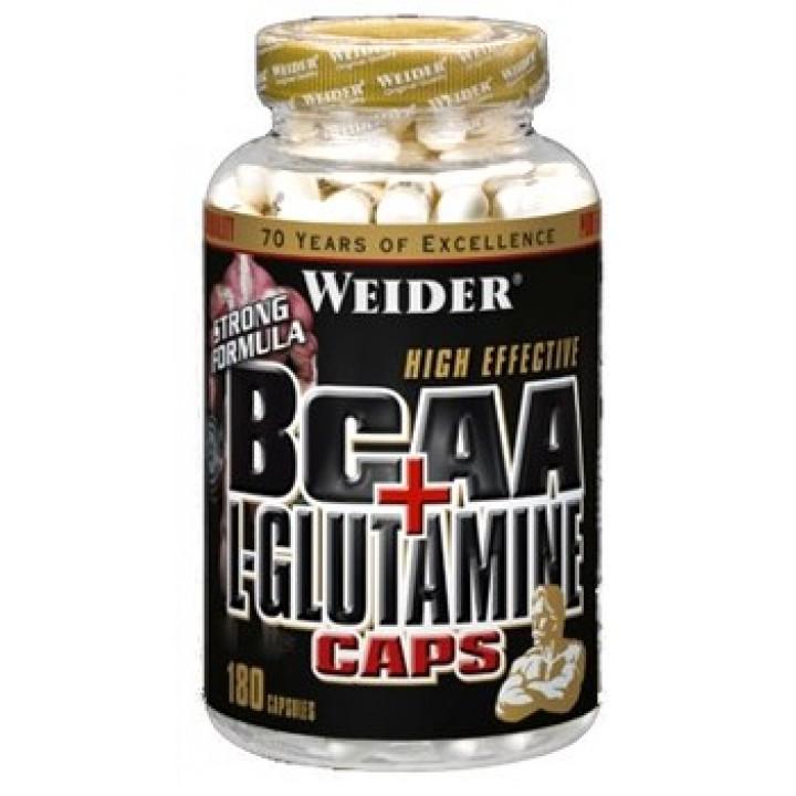 Аминокислоты Weider BCAA + L-Glutamine