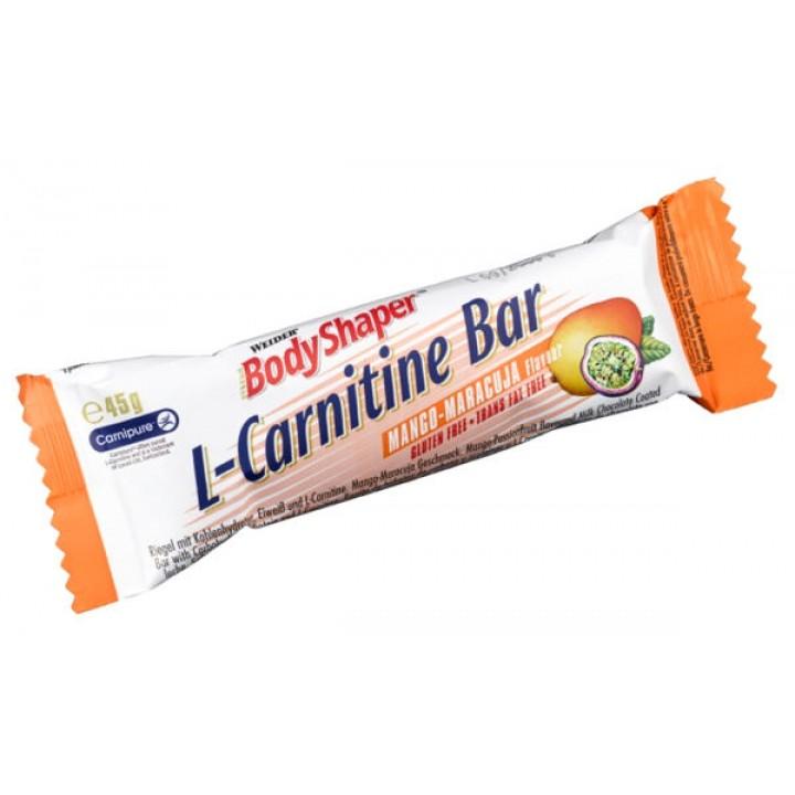 Протеиновый батончик Weider BodyShaper L-Carnitine Bar