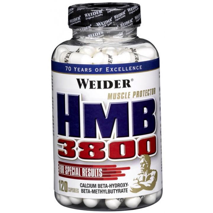 Гидроксиметилбутират Weider HMB 3800