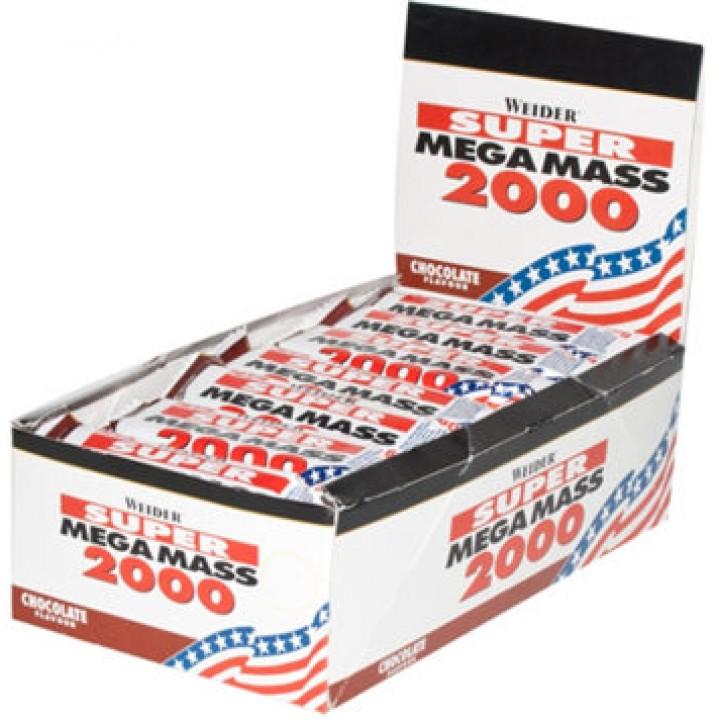 Протеиновые батончики Weider Mega Mass 2000 Bar