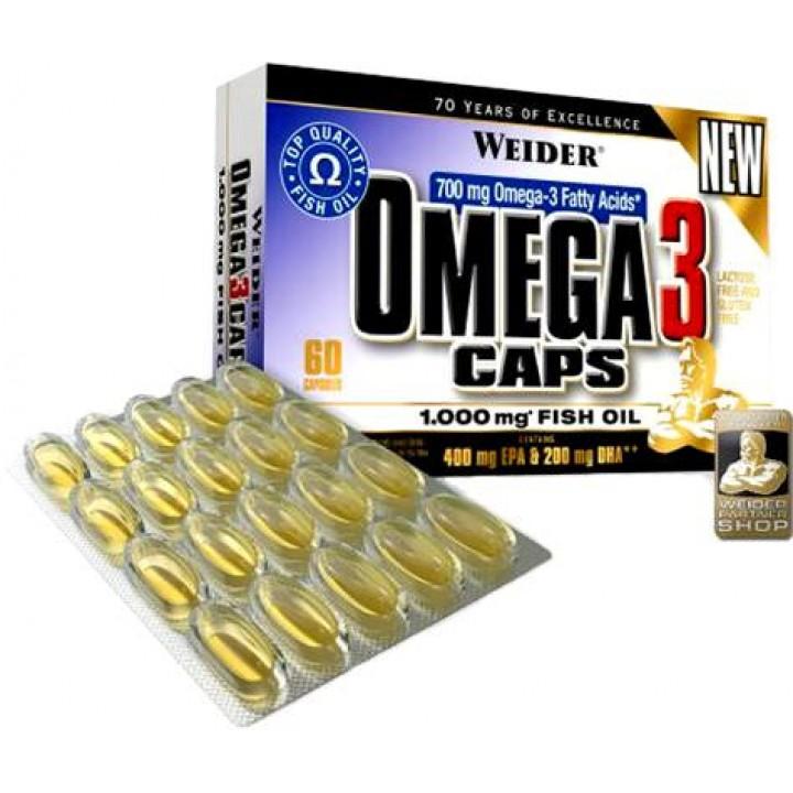 Жирные кислоты Omega 3 Caps 1000mg