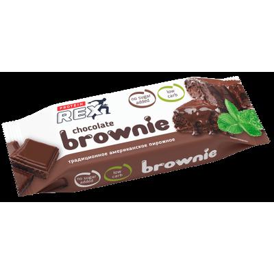 Протеиновый батончик ProteinRex Chocolate Brownie (50 гр)