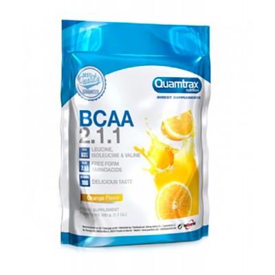 Аминокислоты Quamtrax Nutrition BCAA 2:1:1 (500 гр)