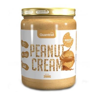 Арахисовая паста Quamtrax Peanut Cream Biscuit (350 гр)