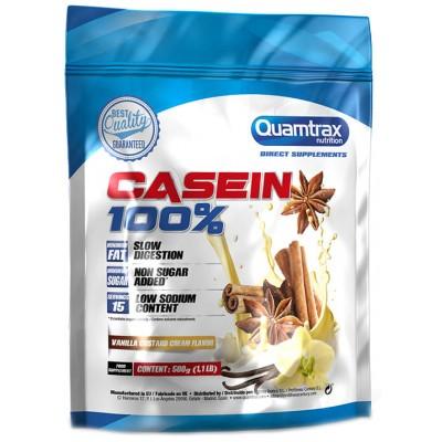 Протеин казеиновый Quamtrax 100% Casein (500 гр)