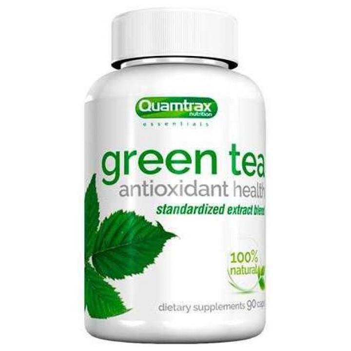Экстракт зелёного чая Quamtrax Green Tea (90 капс)