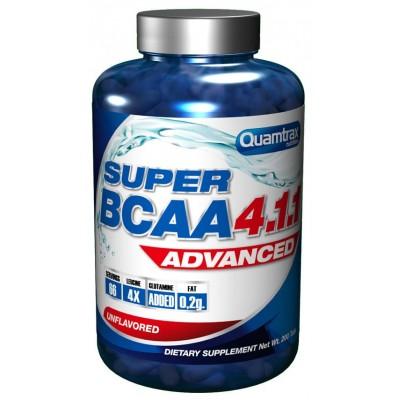 Аминокислоты Quamtrax BCAA 4:1:1 (200 таб)