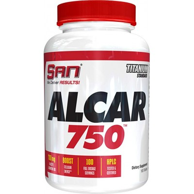 Ацетил л-картинин SAN ALCAR 750 (100 таб)