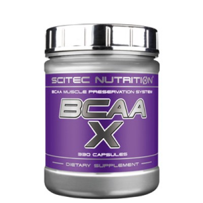 Аминокислоты Scitec Nutrition BCAA-X (330 капс)
