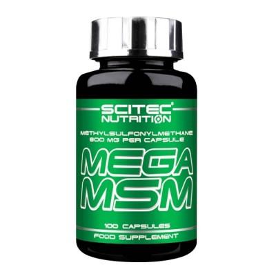 Метилсульфонилметан Scitec Nutrition Mega MSM (100 капс)