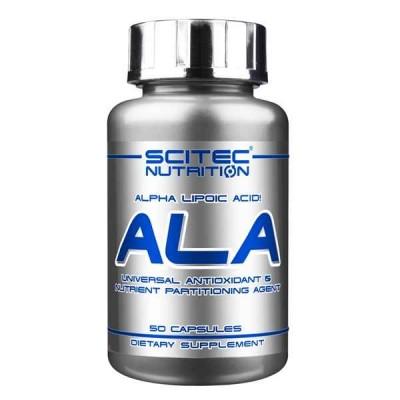 Альфа-липоевая кислота Scitec Nutrition ALA (50 капс)