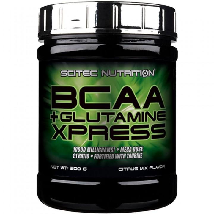Аминокислоты Scitec Nutrition BCAA + Glutamine Xpress