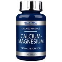 Scitec Nutrition Calcium Magnesium (90 таб)