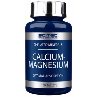 Кальций магний Scitec Nutrition Calcium Magnesium (90 таб)