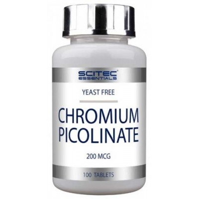 Пиколинат хрома Scitec Nutrition Chromium Picolinate (100 таб)