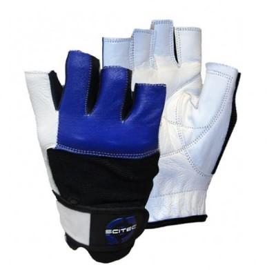 Перчатки Scitec Nutrition Blue Style
