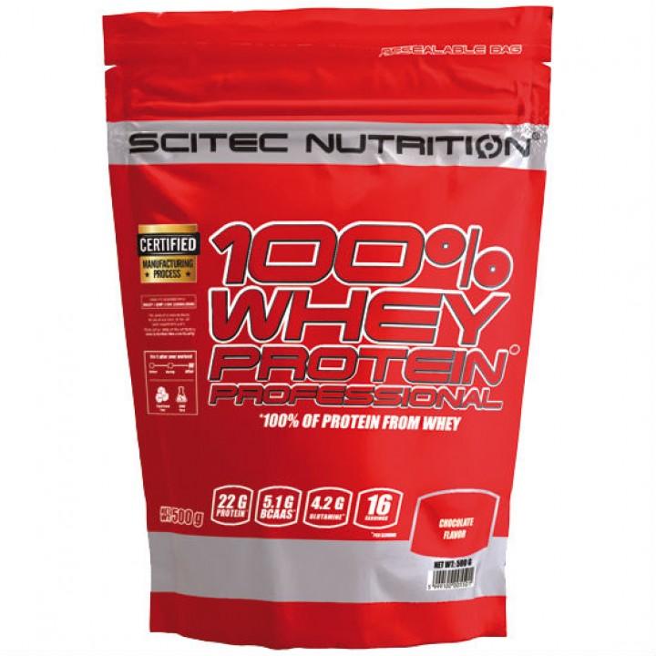 Протеин Scitec Nutrition 100% Whey Protein Professional (500 гр)