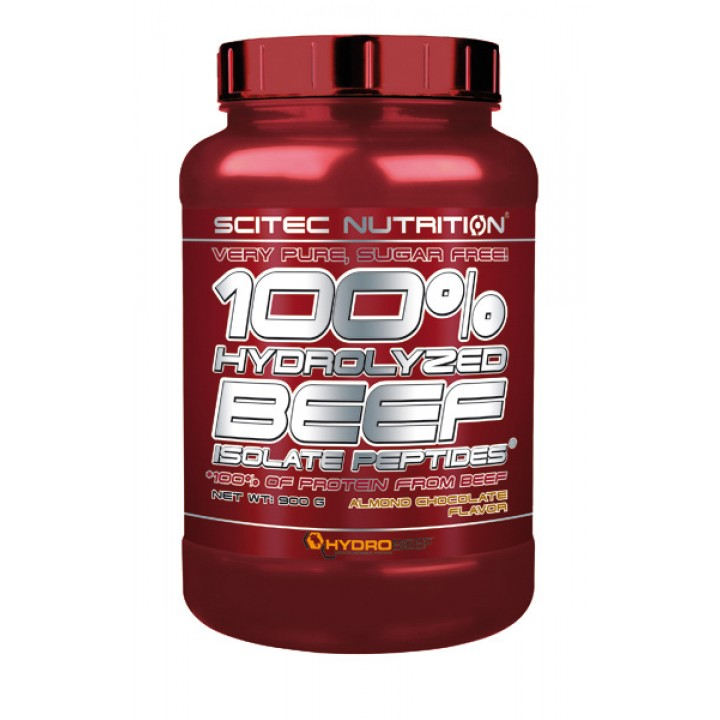 Протеин говяжий Scitec Nutrition 100% Hydrolysed Beef Isolate