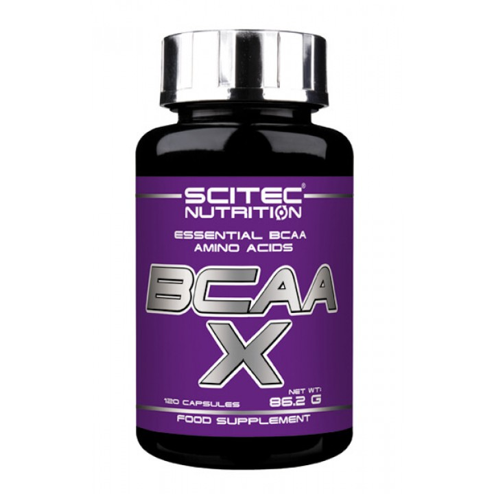 Аминокислоты Scitec Nutrition BCAA-X (120 капс)