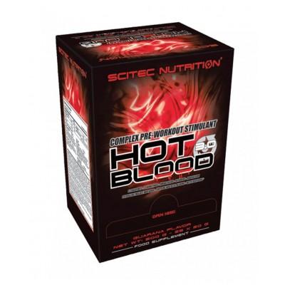 Предтренировочный комплекс Scitec Nutrition Hot Blood 3.0 (20 гр)