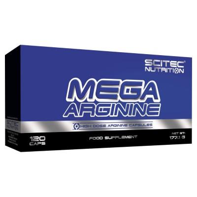 Аргинин Scitec Nutrition Mega Arginine (120 капс)