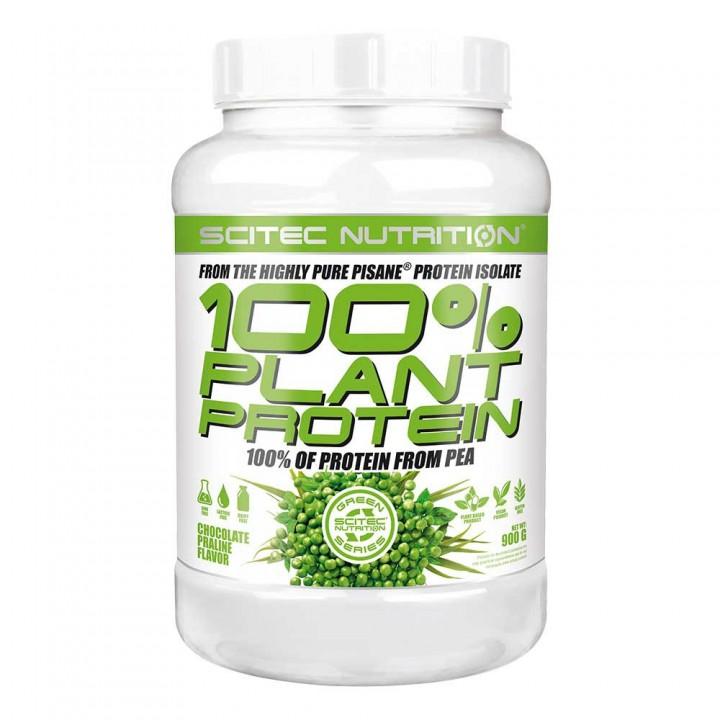 Протеин гороховый Scitec Nutrition 100% Plant Protein (900 гр)