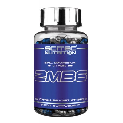 ЗМА Scitec Nutrition ZMB6 (60 капс)