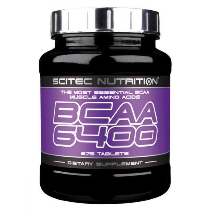 Аминокислоты Scitec Nutrition BCAA 6400 (375 таб)