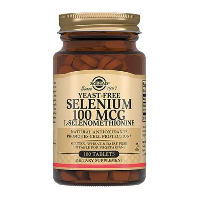 Селен Solgar Selenium 100 мкг (100 таб)