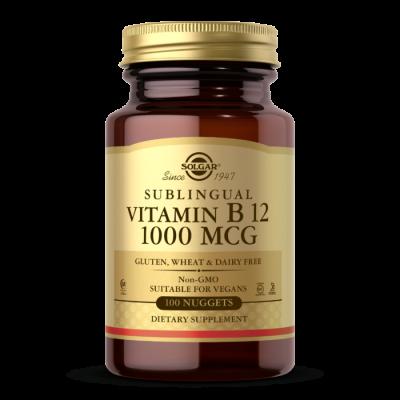 Витамин Б12 Solgar Vitamin B12 1000 (100 таб)