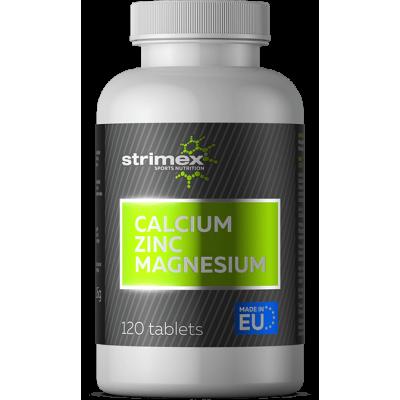 Кальций цинк магний Strimex Calcium Zinc Magnesium (120 таб)