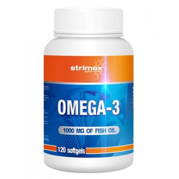 Рыбий жир Strimex Omega-3 (120 капс)