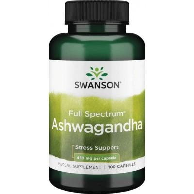 Ашваганда Swanson Ashwagangha (100 капс)