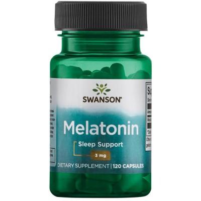 Мелатонин Swanson Melatonin 3 mg (120 капс)