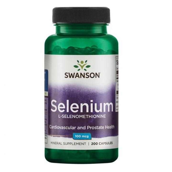 Селен Swanson Selenium (200 капс)