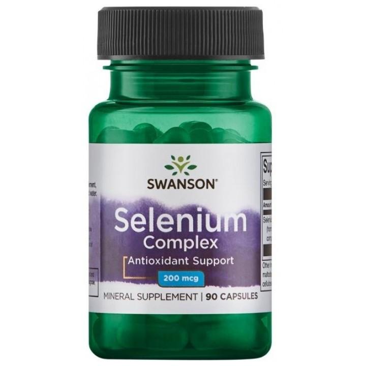 Селен Swanson Selenium Complex (90 капс)