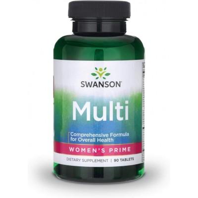 Витамины для женщин Swanson Women's Prime Multivitamin (90 таб)