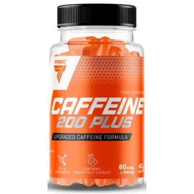 Кофеин Trec Nutrition Caffeine 200 Plus (60 капс)