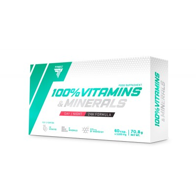 Витамины Trec Nutrition 100% Vitamins & Minerals (60 капс)