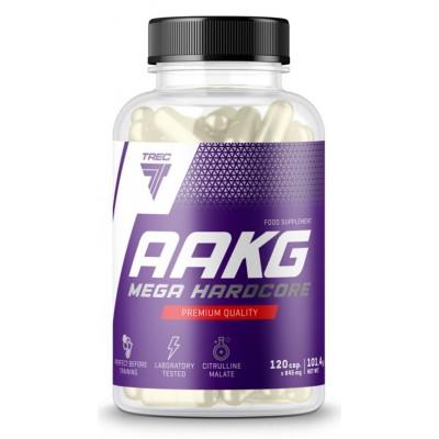 Аргинин Trec Nutrition AAKG Mega Hardcore (120 капс)