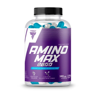 Аминокислоты Trec Nutrition Amino Max 6800 (160 капс)