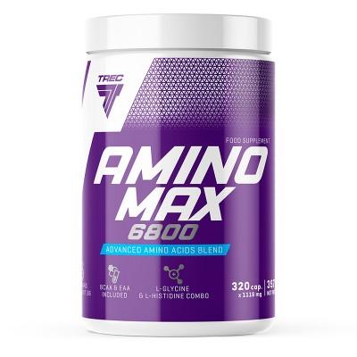 Комплексные аминокислоты Trec Nutrition Amino Max 6800 (320 капс)