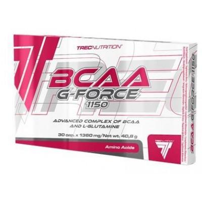 Аминокислоты Trec Nutrition BCAA G-Force 1150 (30 капс)