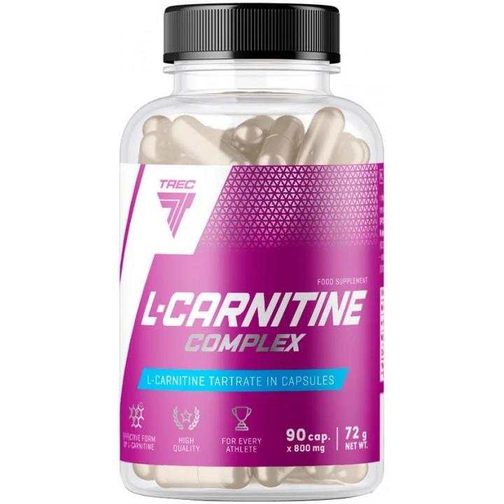 Карнитин Trec Nutrition L-Carnitin Complex (90 капс)