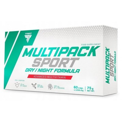 Витамины Trec Nutrition Multipack Sport Day/Night (60 капс)