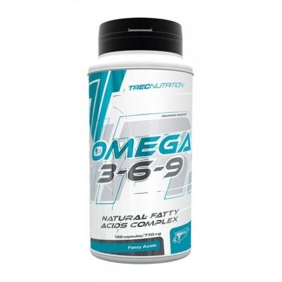 Жирные кислотыTrec Nutrition Omega-3-6-9 (120 капс)