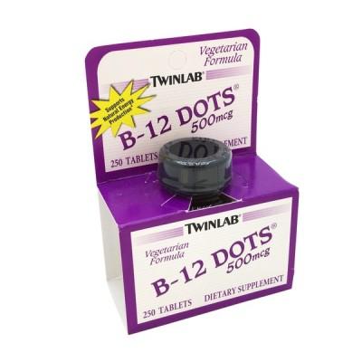 Витамин Б12 Twinlab B-12 Dots (250 таб)