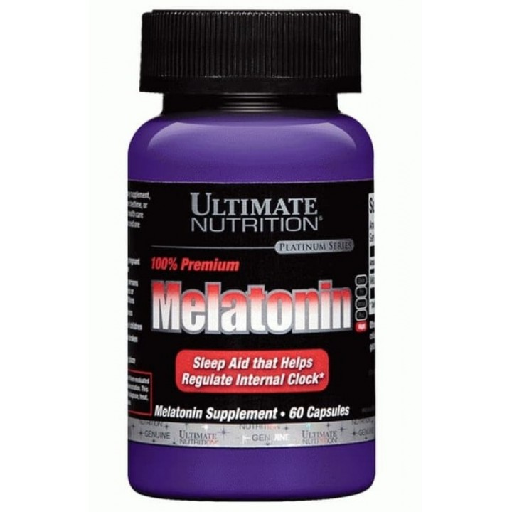 Мелатонин Ultimate Nutrition Melatonin 3mg (60 таб)